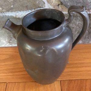 Vintage Pewter? Pitch vase